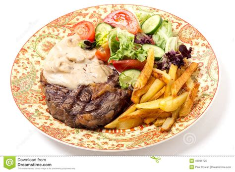 Hotplate Steak Potatoes ribeye steak dinner stock image image of ribeye cooked 46936725