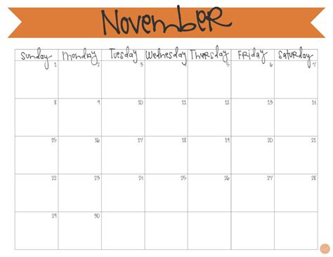free printable monthly calendars november 2015 november 2015 calendar free printable live craft eat