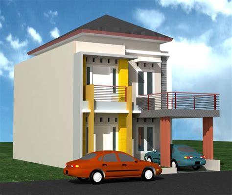 desain depan rumah pintu dua 7 desain gambar rumah minimalis dua lantai abwaba com