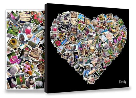 collage designs photo collage canvas print multi photo canvas smile