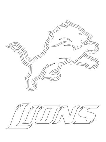 old broncos logo coloring coloring pages