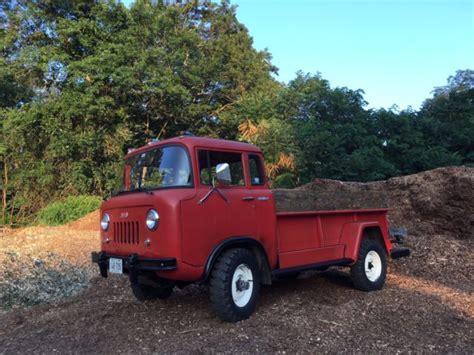 jeep stepside for sale 1962 willys jeep fc 170 4x4 9 stepside survivor 13 000