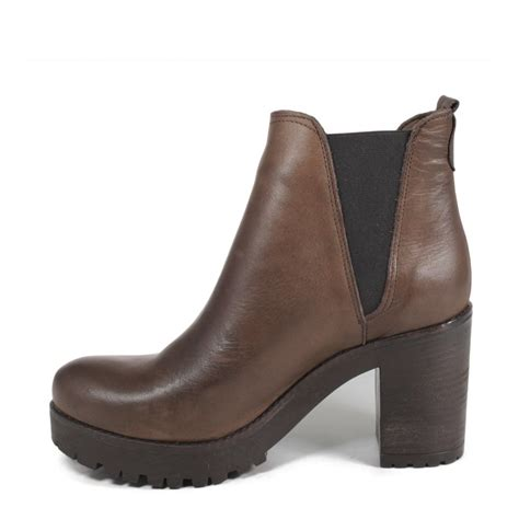 s ankle chelsea boots genuine leather brownfall winter