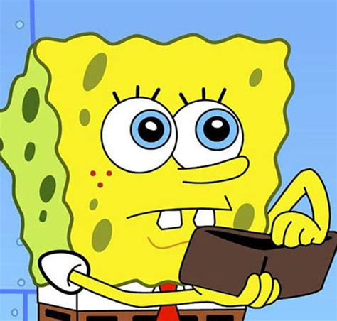 Spongebob Wallet Meme - time warner blames netflix for nickelodeon decline but