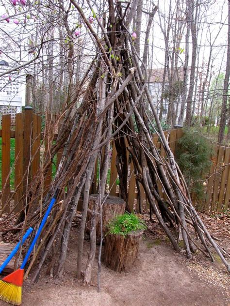 backyard teepee the old awesome and backyards on pinterest