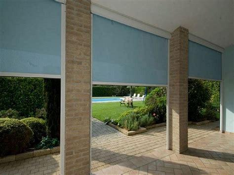 chiusura terrazzo pvc chiusura per terrazzo con tende in pvc avvolgibili