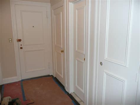 Custom Closet Nyc by Manhattan Doors Manhattan White 3 Folding Doors With Bevelled Clear Glass 2078mm High