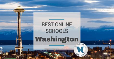 Washington State Mba Ranking by Top 10 Best Colleges In Washington Value Colleges