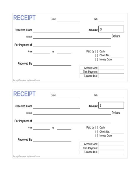 receipt and release form template beneficiary receipt and release form