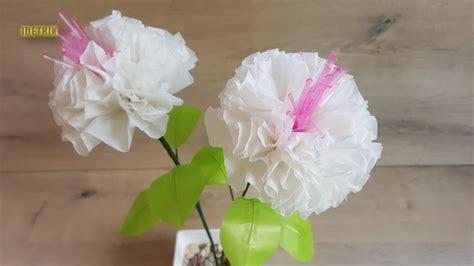 membuat bunga  plastik kresek  simple mudah