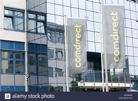 comdirect bank aktiengesellschaft the logo comdirect bank ag can be seen at the location of