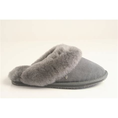emu australia slippers emu australia emu australia style quot quot charcoal grey