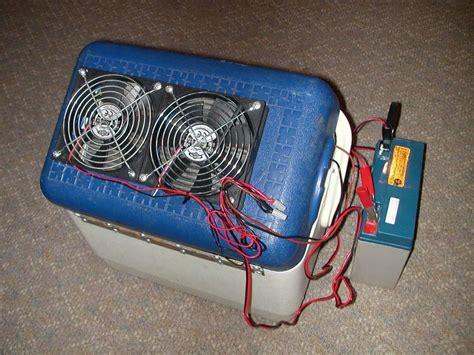 Handmade Air - portable 12v air conditioner cheap and easy