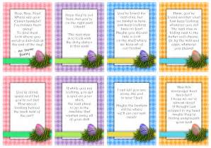 Easter basket scavenger hunt riddles party invitations ideas