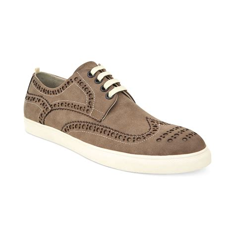 kenneth cole sneakers for kenneth cole reaction stand up wing tip sneakers in