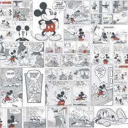 Mickey And Minnie Wall Stickers wallpaper mickey mouse comic disney boy girl 3011 3
