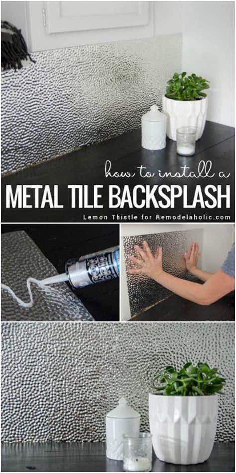 easy to clean kitchen backsplash 25 best ideas about metal ceiling on pinterest pallet