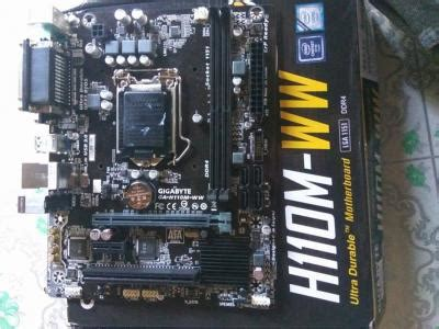 Motherboard Gigabyte H110m Ww Kaby Lake Socket 1151 Wts Sold