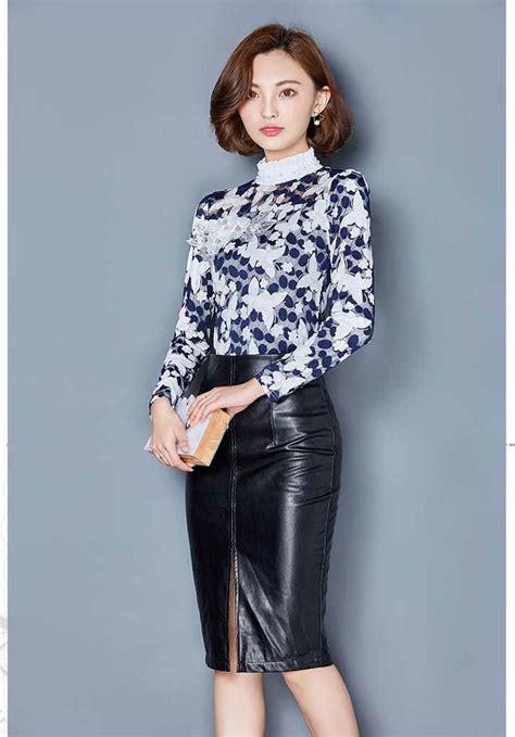 Blouse Wanita Lengan Panjang blouse wanita cantik lengan panjang 2017 myrosefashion