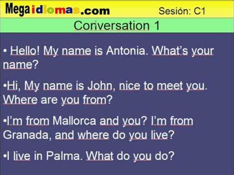 preguntas personales traduccion curso de ingles c001 conversacion presentacion en ingles