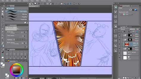 clip studio studio clip studio paint ex studio ex5 overview 01