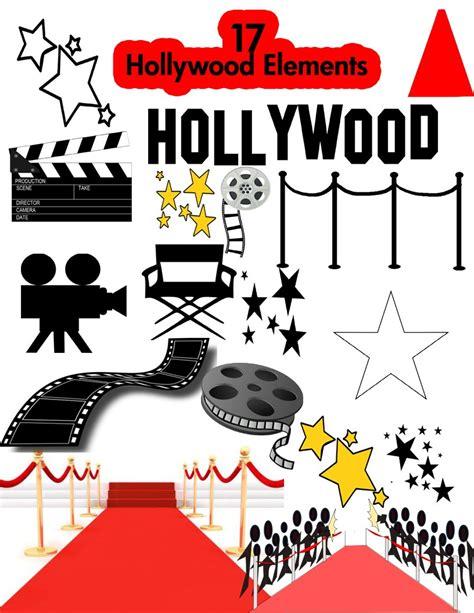 film 1 oscar gratis hollywood party clipart