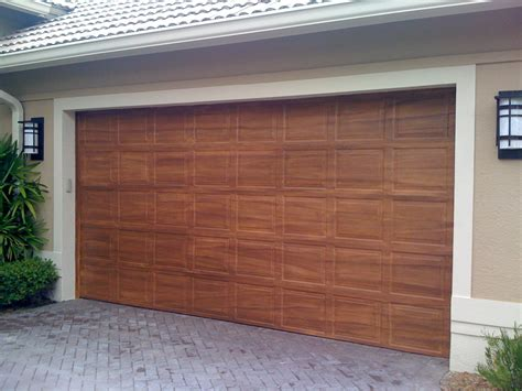 Wood Looking Garage Doors 12 Mesmerizing Ideas Of Faux Wood Garage Doors Homeideasblog