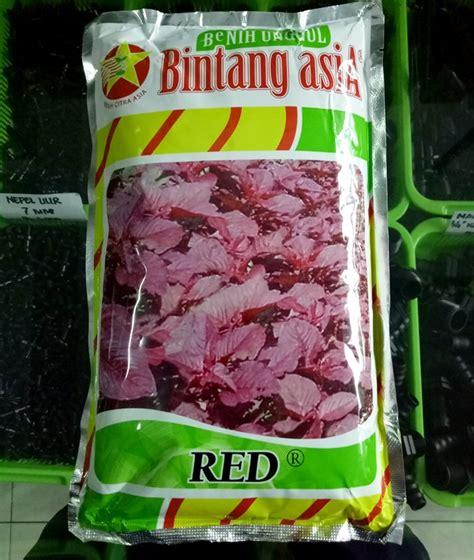 Benih Pare Cap Bintang Asia benih bayam 500 gram bintang asia bibitbunga