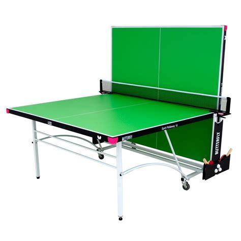 butterfly spirit 16 rollaway indoor table tennis table