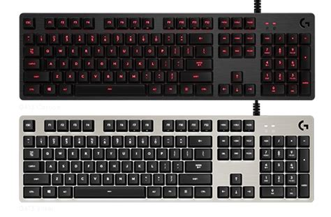 Keyboard Logitech Mechanical logitech g g413 mechanical backlit gaming keyboard