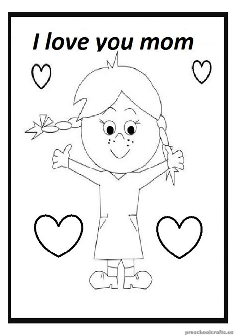 mothers day coloring pages for preschool mother s day free printable coloring pages for