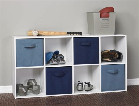 Who Sells Closetmaid Closetmaid 420 Cubeicals 8 Cube Organizer White Ebay