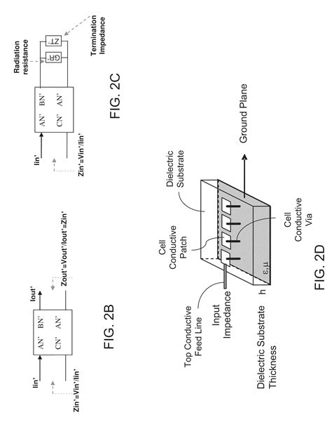 sketch radiation pattern patent us8462063 metamaterial antenna arrays with