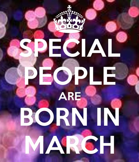 March Birthday Memes - special people are born in march keep calm and carry on