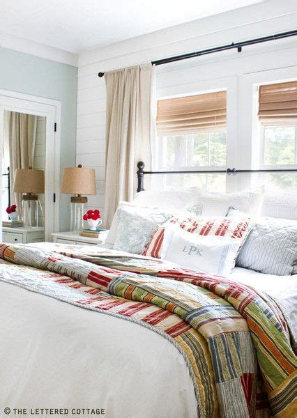 Bedroom Decorating Ideas Quilt Placing Your Bed In Front Of A Window Bungalow Home