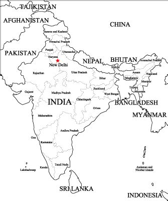 Outline Map Of Indian Subcontinent by Blank Map Of India Worksheet Search Results Calendar 2015