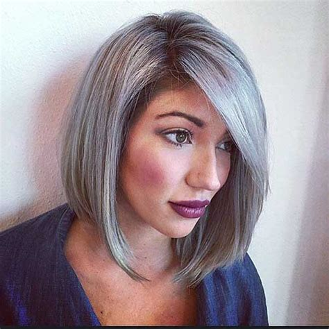 Grey Hairstyles by 14 Hairstyles For Gray Hair Hairstyles 2017