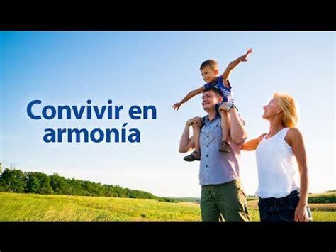 imagenes de la familia en armonia convivir en armon 237 a pastor jorge h l 243 pez la fr 225 ter youtube