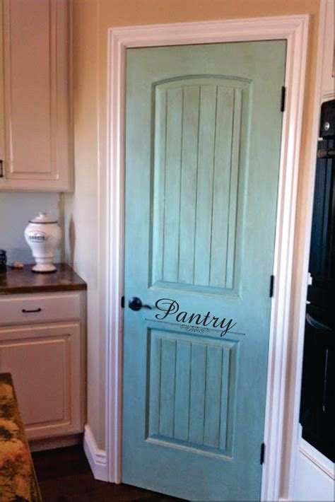 painting bathroom doors give an invisible door a touch of character by adding a