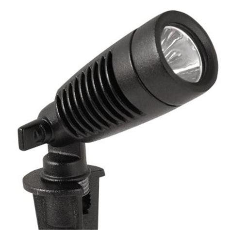 low voltage led spotlights outdoor moonrays low voltage 1 watt black outdoor led adjustable