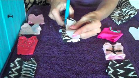How To Make A Paper Doll Dress - quot how to make doll clothes quot singlet easy