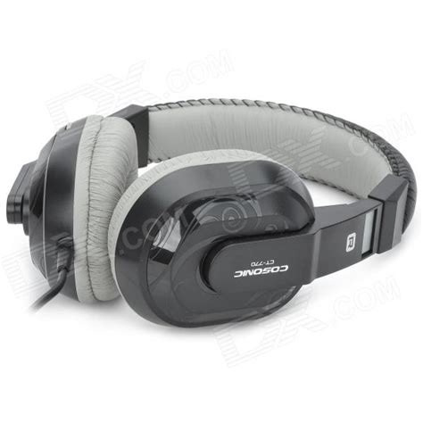 Resong Q12 Bass Wired Headset Grey cosonic ct 770 3 5mm wired stereo bass headset w