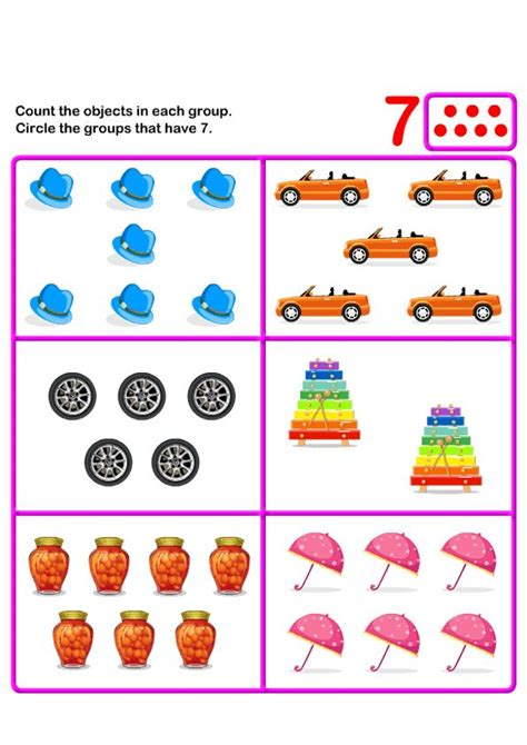 7 Activities For Children by 117 Best Images About Math For On