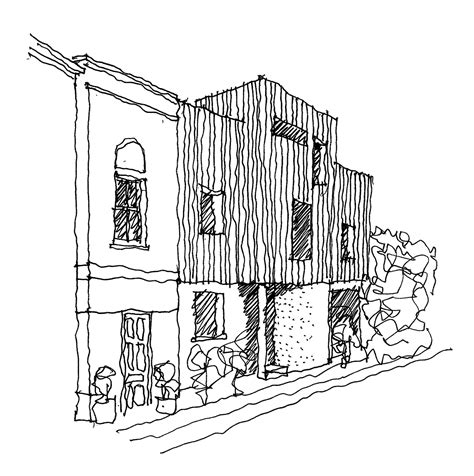 Studio C Sketches by 17a Highbury Terrace Mews Studio 54 Architecture Archdaily