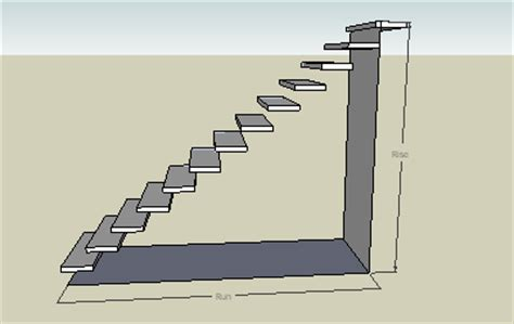 sketchup layout feet and inches stair calculator