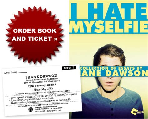 shane dawson book event quot i hate myselfie quot getty images shane dawson i hate myselfie changing hands bookstore