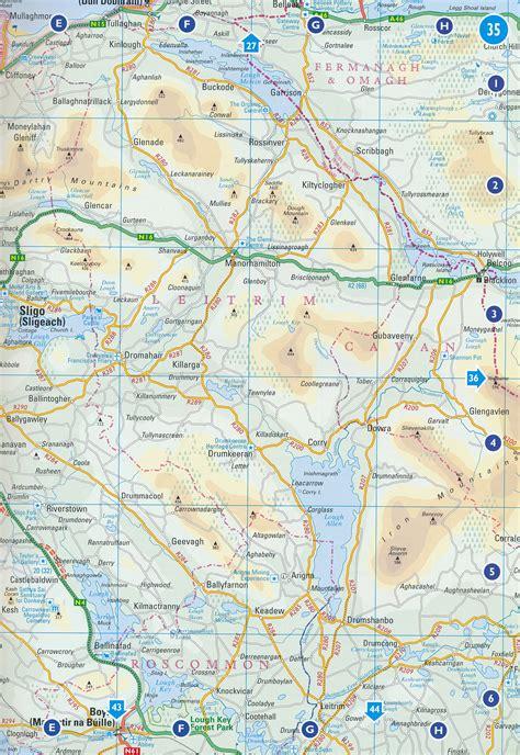 0008270333 comprehensive road atlas ireland wegenatlas ireland comprehensive road atlas collins