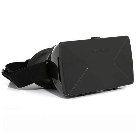 Taffware Cardboard Vr Box Mount Plastic Version 3d For Smartphone taffware cardboard vr box mount plastic version 3d reality for smartphone black