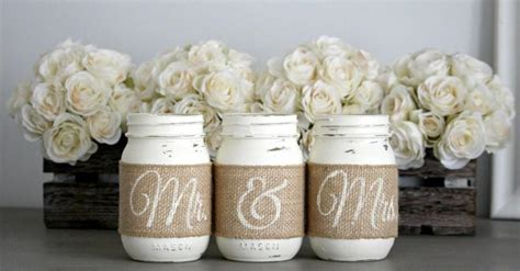 centerpieces for engagement engagement gift rustic wedding table centerpieces