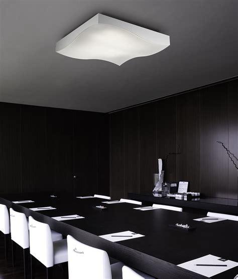 large square ceiling light large flush square led ceiling light measuring 800mm